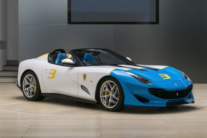 Sieu xe Ferrari SPCJ3 duy nhat tren the gioi lo dien hinh anh