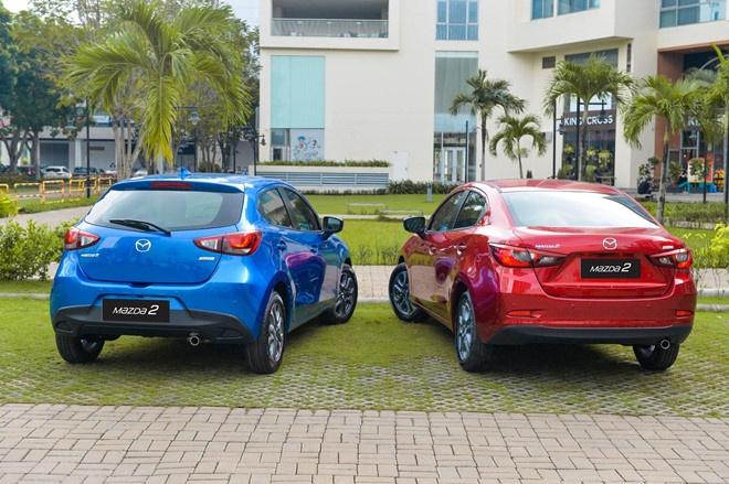 Mazda2 gia tu 509 trieu dong, nhap khau Thai Lan hinh anh 3