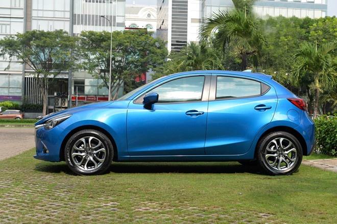 Mazda2 gia tu 509 trieu dong, nhap khau Thai Lan hinh anh 6