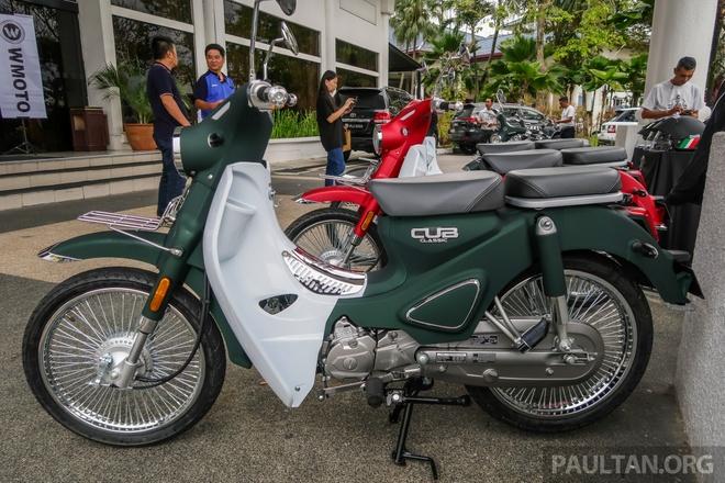 Doi thu Honda Cub ra mat tai Malaysia, gia hon 1.100 USD hinh anh 8