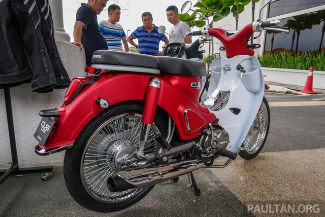 Doi thu Honda Cub ra mat tai Malaysia, gia hon 1.100 USD hinh anh 5