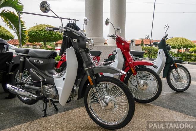Doi thu Honda Cub ra mat tai Malaysia, gia hon 1.100 USD hinh anh
