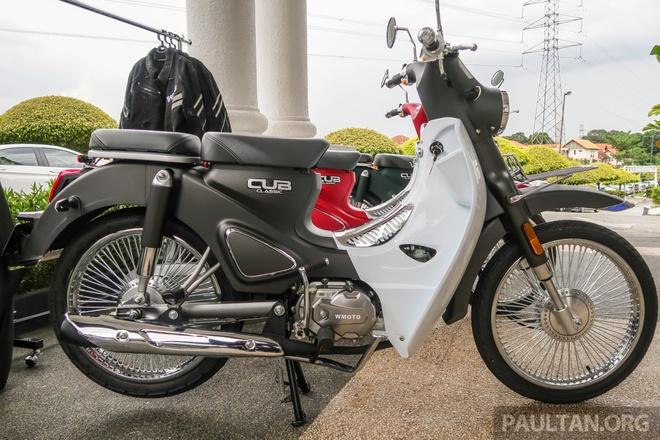 Doi thu Honda Cub ra mat tai Malaysia, gia hon 1.100 USD hinh anh 4