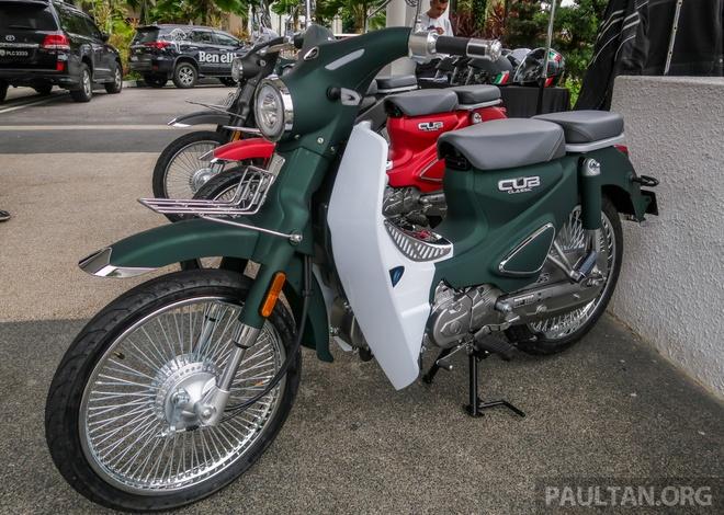 Doi thu Honda Cub ra mat tai Malaysia, gia hon 1.100 USD hinh anh 3