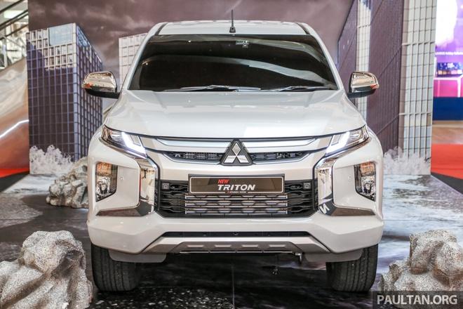 Mitsubishi Triton 2019 phien ban dia hinh gia tu 24.000 USD hinh anh