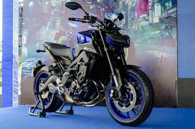 Yamaha MT-09 chinh hang ve Viet Nam, gia 299 trieu dong hinh anh 1