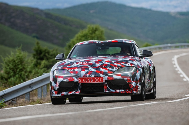 Ro ri hinh anh Toyota Supra 2020 hinh anh 5