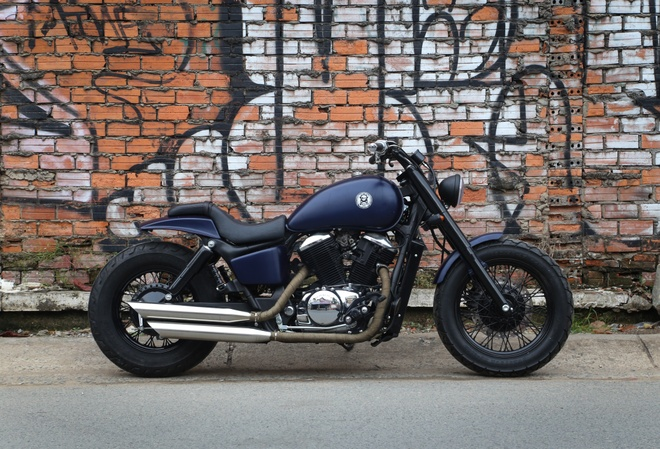 Honda Shadow 400 doi 1994 do anh 2