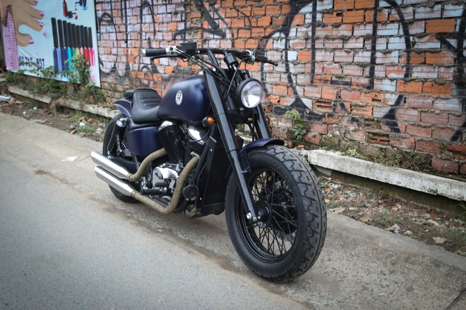Honda Shadow 400 doi 1994 do anh 1