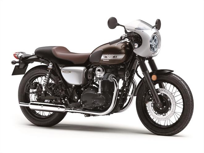 Kawasaki W800 Cafe dang hoai co, gia gan 10.000 USD hinh anh