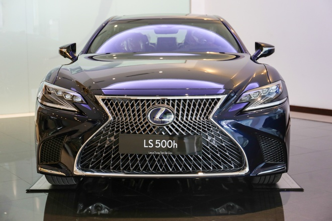 Chi tiet Lexus LS500h 2019 gia 8,75 ty dong vua ra mat o VN hinh anh