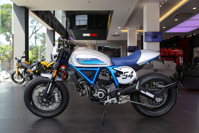 Ducati Scrambler Cafe Racer 2019 chinh hang ve VN, gia hon 400 trieu hinh anh 11