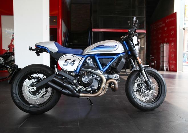 Ducati Scrambler Cafe Racer 2019 chinh hang ve VN, gia hon 400 trieu hinh anh 8