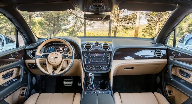 Bentley Bentayga co them ban nang cap, manh 650 ma luc hinh anh 4