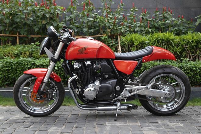 Honda CB1100 do phong cach lai Racer-Bob hinh anh
