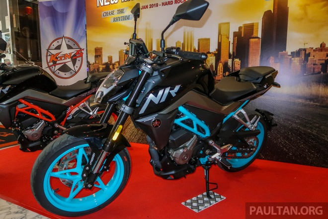 CFMoto 250 NK ra mat tai Malaysia, gia tu 3.112 USD hinh anh