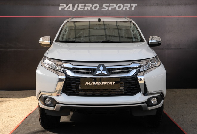Mitsubishi Pajero Sport them ban so san, gia 980 trieu dong hinh anh