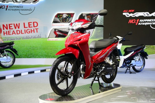 2019 Honda Wave 110i Thai 'an dut' vua xe so Wave Alpha o VN? hinh anh 1