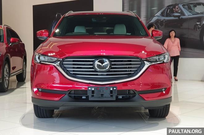 SUV 7 cho Mazda CX-8 2019 ra mat tai Dong Nam A hinh anh