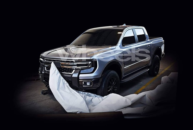 Ford Ranger lo thiet ke the he moi? hinh anh 1