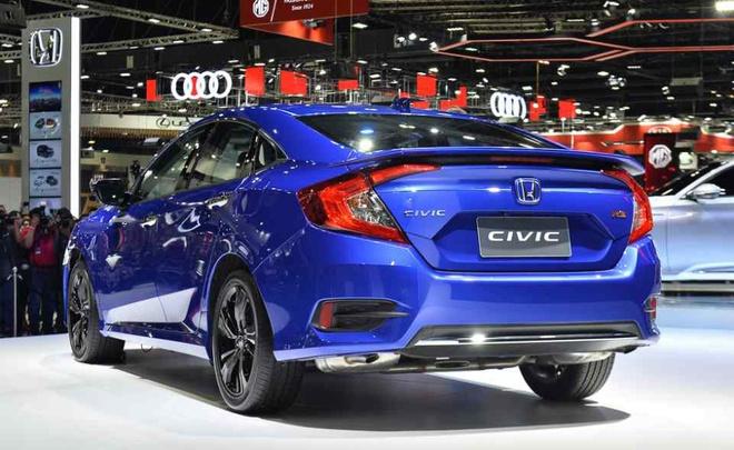 Honda Civic 2019 sap ve VN, khong cua so troi, them ban RS? hinh anh 3