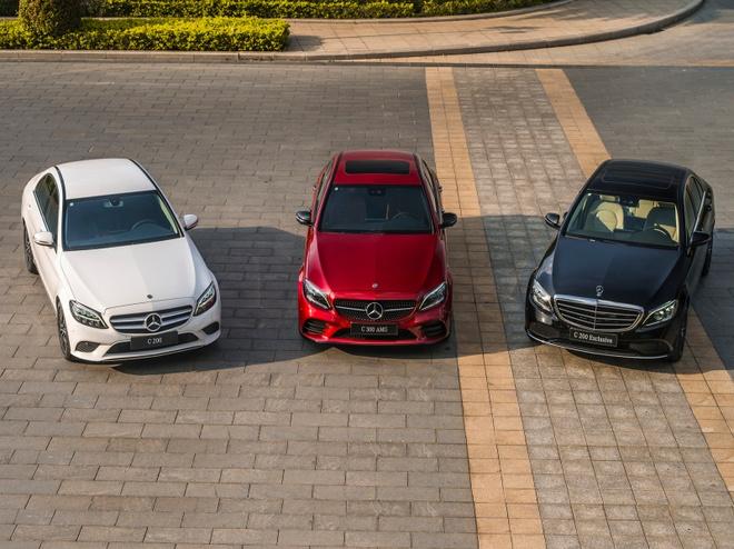 Danh gia nhanh Mercedes-Benz C-Class 2019 hinh anh