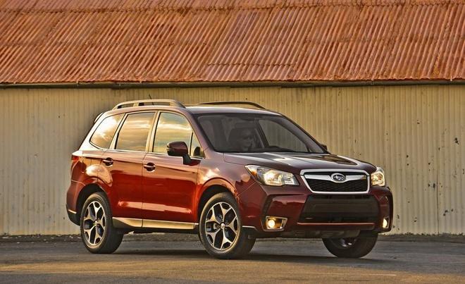 Subaru trieu hoi 1,3 trieu xe vi loi den phanh hinh anh 1
