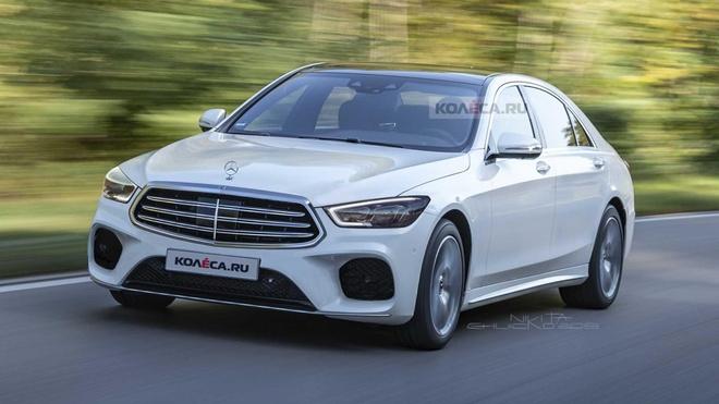 Day la dien mao cua Mercedes-Benz S-Class 2020? hinh anh 1