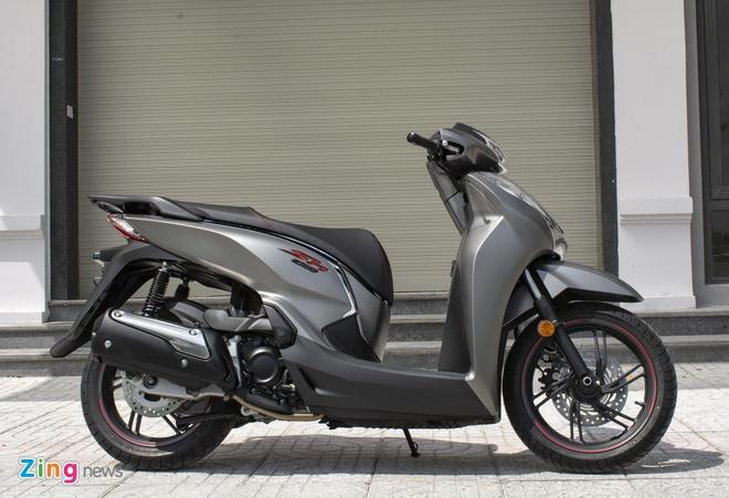 Honda SH 300i 2019 ra mat VN, gia tang len 279 trieu hinh anh 2