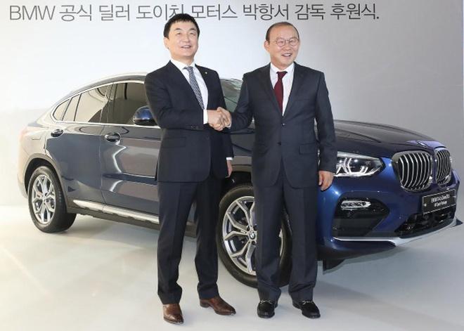HLV Park Hang-seo duoc tang Hyundai Santa Fe gia 1,2 ty dong hinh anh 2