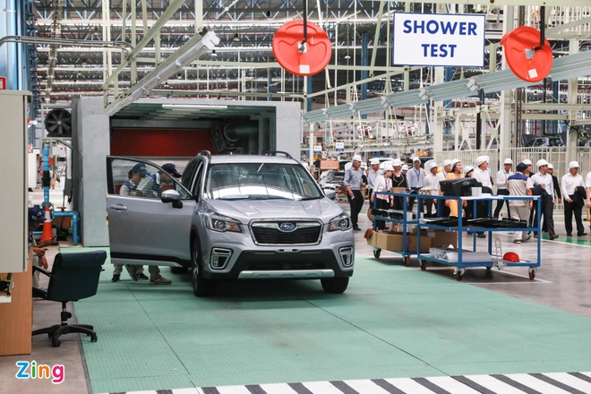 Subaru xay xong nha may tai Thai Lan, gia xe sap giam manh tai VN hinh anh 1