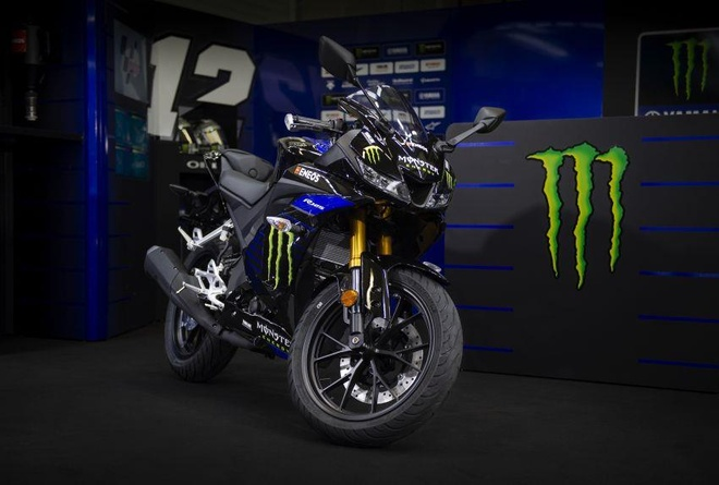 Yamaha YZF-R15 co them phien ban Monster Energy MotoGP 2019 hinh anh 4