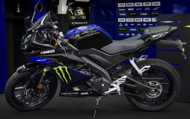 Yamaha YZF-R15 co them phien ban Monster Energy MotoGP 2019 hinh anh 2
