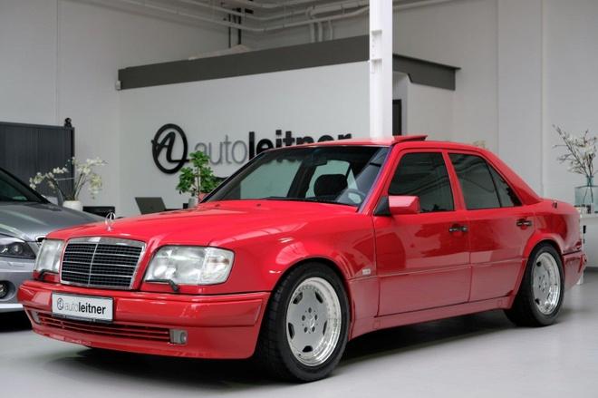 Mercedes E60 AMG 500E hon 20 tuoi hang hiem, gia gan 170.000 USD hinh anh 9