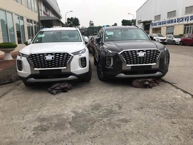 Them mot lo xe Hyundai Palisade duoc nhap ve VN hinh anh 1