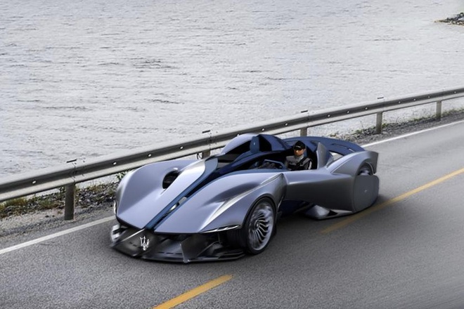 Sieu xe dien Maserati Diatto sap duoc san xuat anh 6