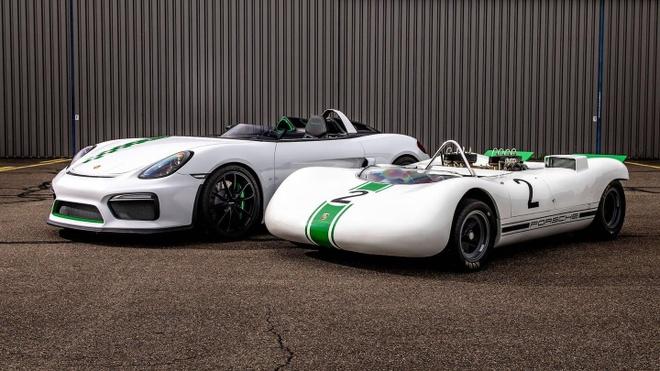 Chiêm ngưỡng mẫu xe thể thao hàng hiếm Porsche Boxster Berspyder