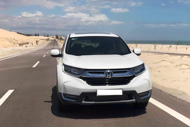 Thuc hu 'loi' phanh tren Honda CR-V 2019 hinh anh