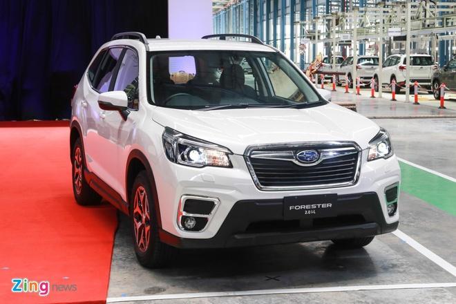 Subaru Forester nhap Thai sap ra mat, gay suc ep len CR-V va CX-5 hinh anh 1