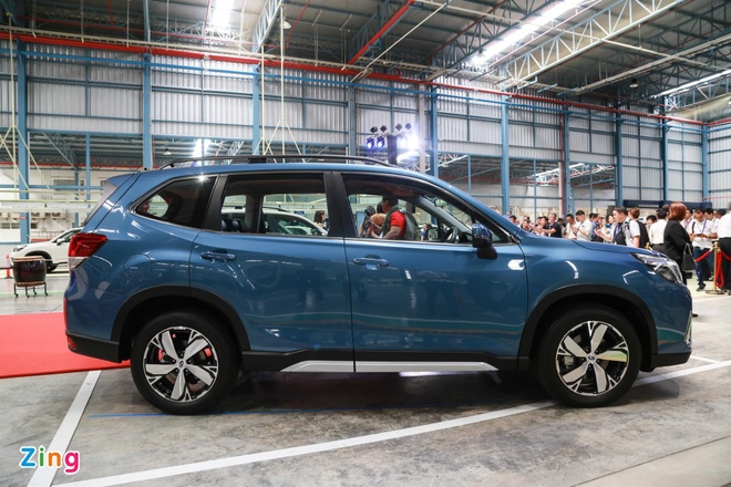 Subaru Forester nhap Thai sap ra mat, gay suc ep len CR-V va CX-5 hinh anh 3