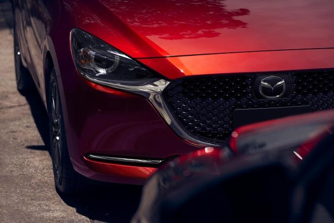 Mazda 2 ban nang cap thay doi ngoai hinh, them cong nghe an toan hinh anh 3