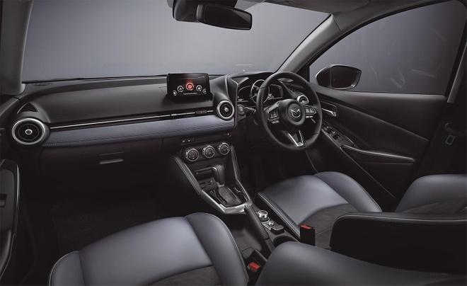 Mazda 2 ban nang cap thay doi ngoai hinh, them cong nghe an toan hinh anh 6