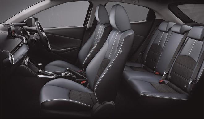 Mazda 2 ban nang cap thay doi ngoai hinh, them cong nghe an toan hinh anh 7