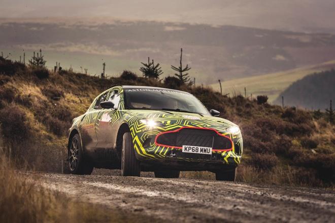 Kha nang off road cua Aston Martin DBX hinh anh