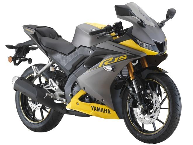 Yamaha R15 co them phien ban mau moi anh 1