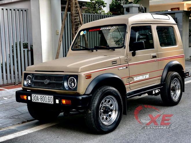Suzuki Samurai doi 1993 gia 300 trieu dong o Ha Noi hinh anh 1