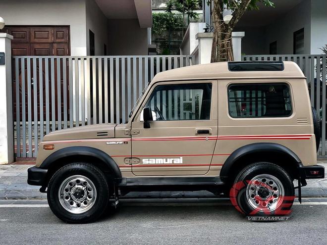 Suzuki Samurai doi 1993 gia 300 trieu dong o Ha Noi hinh anh 3