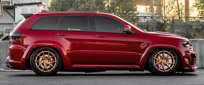 Ban do Jeep Grand Cherokee SRT8 manh gap 2 lan Lamborghini Urus hinh anh 6