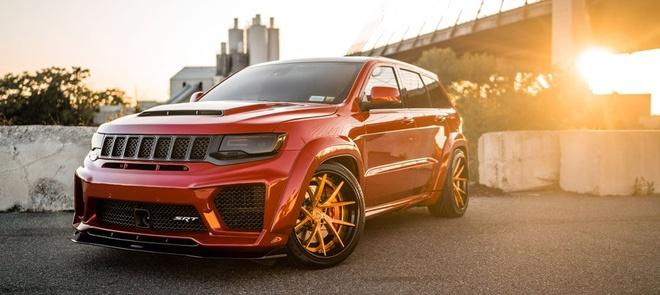 Ban do Jeep Grand Cherokee SRT8 manh gap 2 lan Lamborghini Urus hinh anh 4