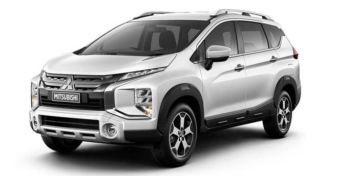 Mitsubishi Xpander sap co them phien ban SUV to va ham ho hon hinh anh 1